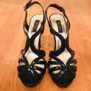 "White House Black Market ""Bali"" Heels"